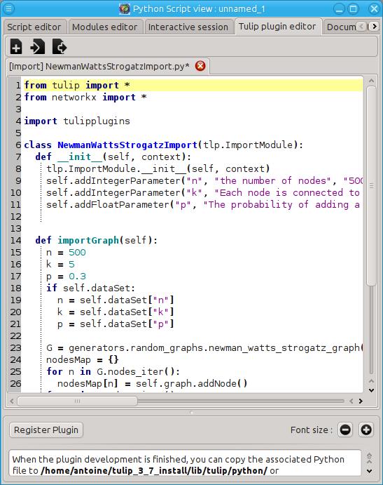 Getting started — Tulip-Python 3 7 0 documentation