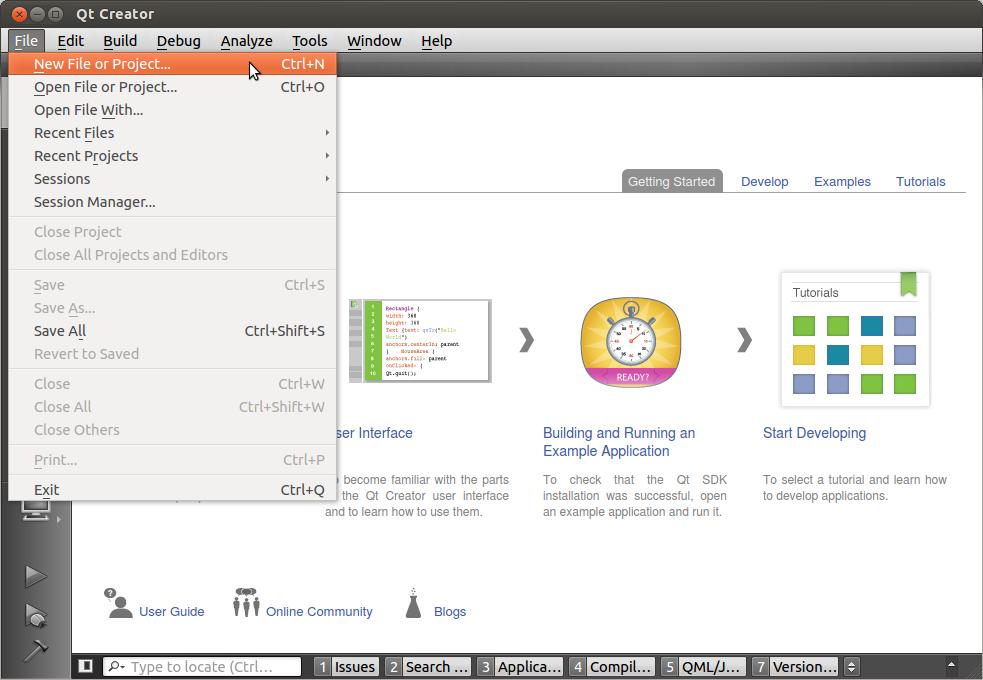 Configuring the IDE QtCreator — Tulip Developer Handbook 4 4