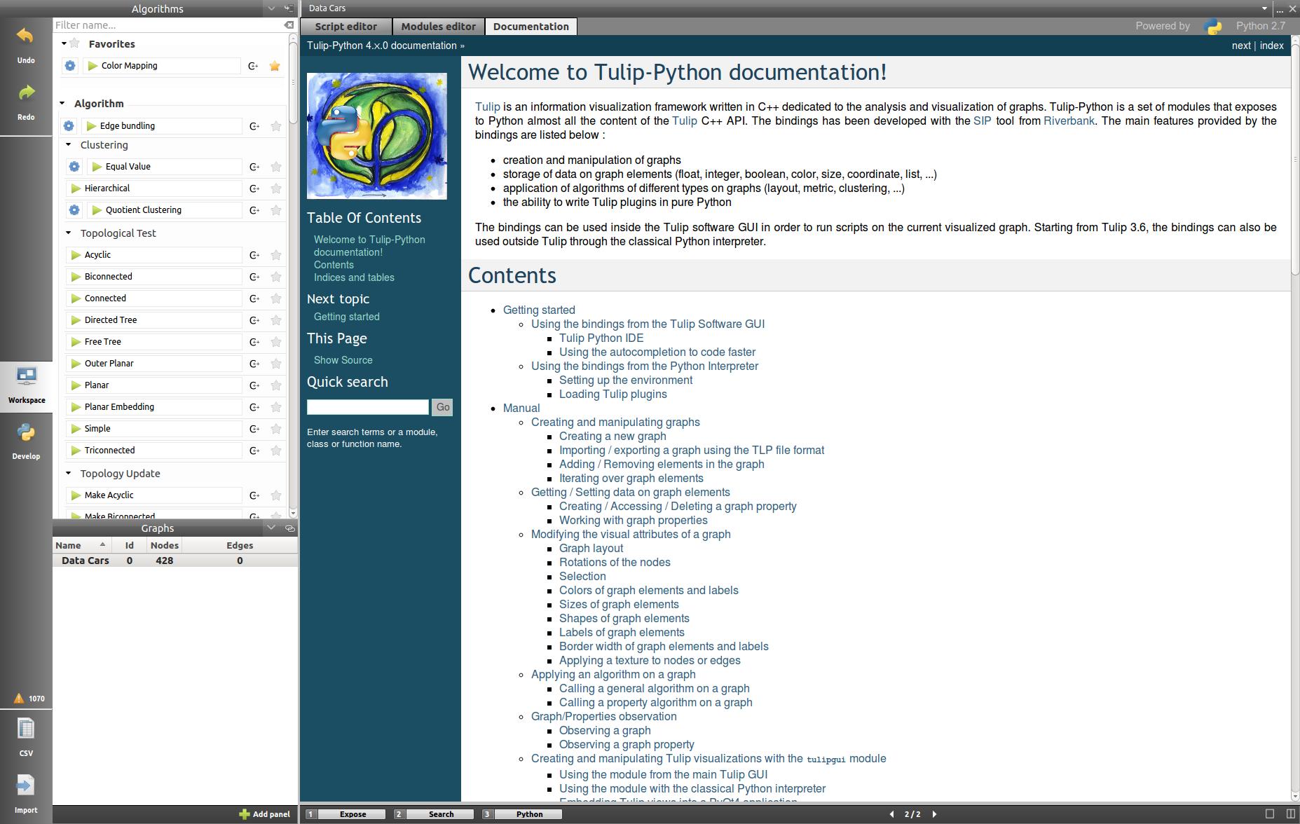 how to write python documentation