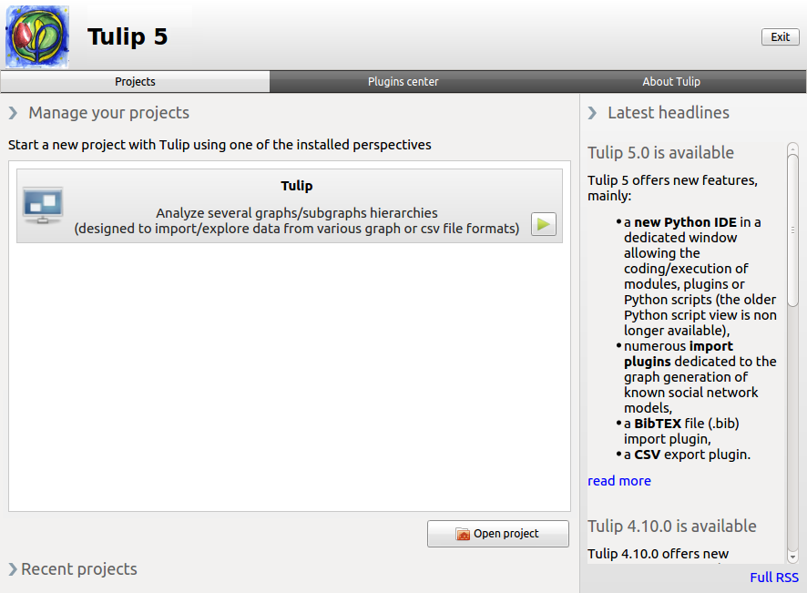 Welcome to the Tulip user oriented documentation! — Tulip