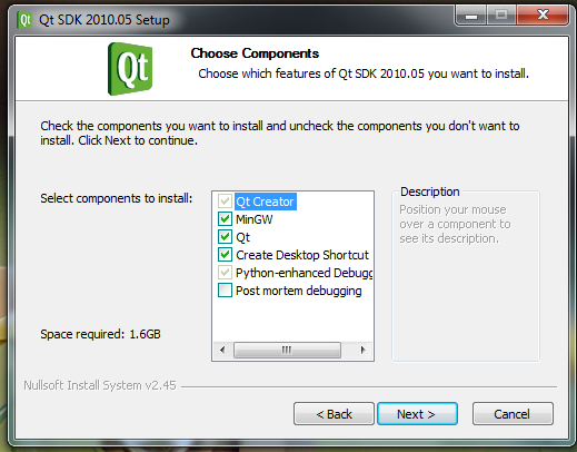 Windows compilation in a nutshell - Installing Qt | Tulip